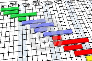 Gantt chart freelancers guru excel word visio ccuart Image collections