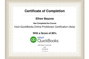 Certified Quickbooks Proadvisor Freelancers Guru