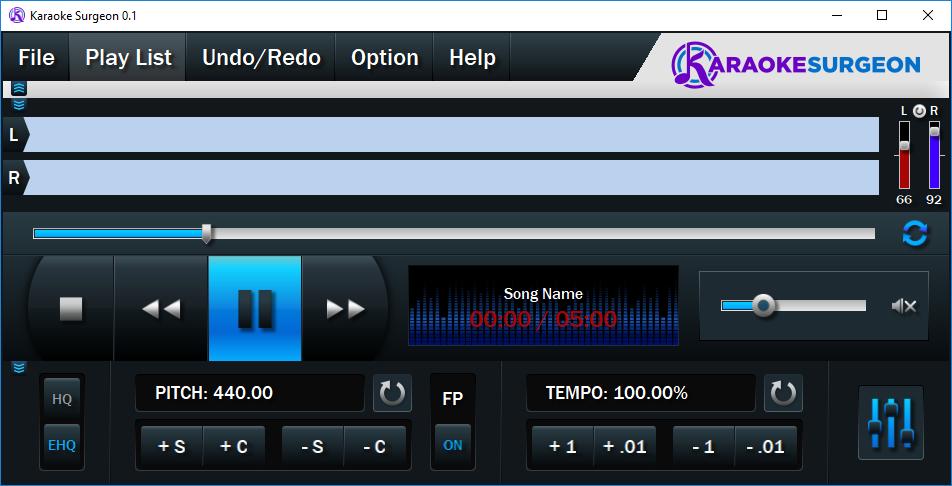 GUI for karaoke application by MV [bahur] 584361