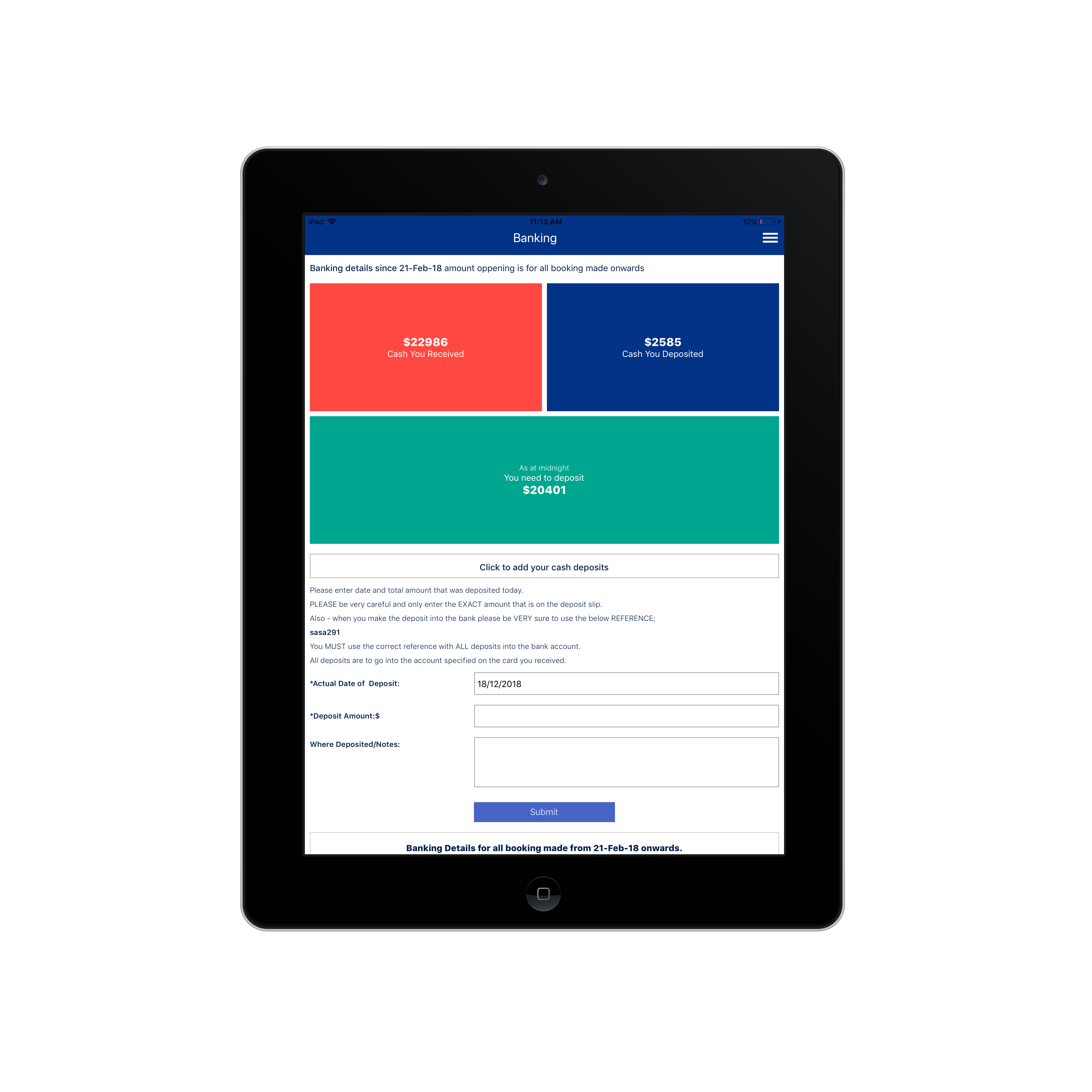 e-Learning/Online course booking App by Awesome Developers 764969