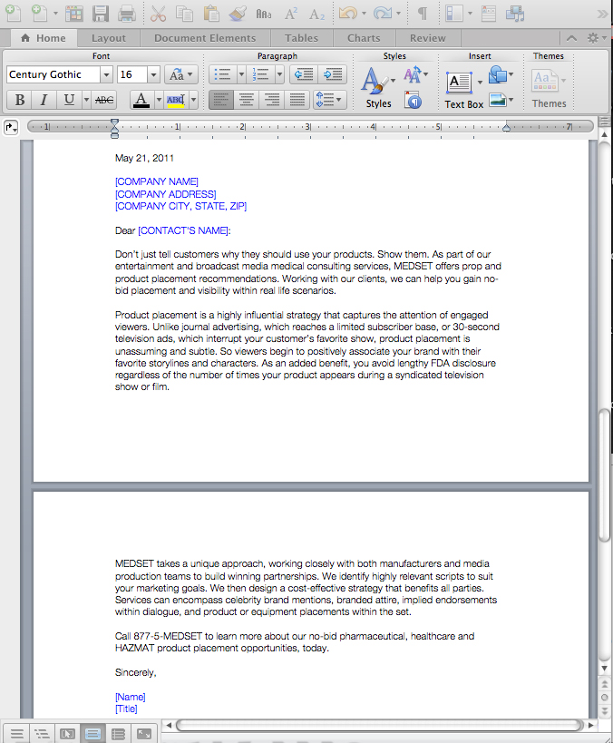 Business and Sales Letters by Visual Content Communications ...