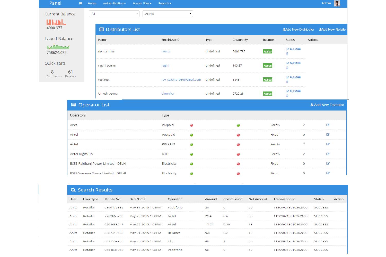 Recharge Online : distributor, retailer management by Ravi K Saxena
