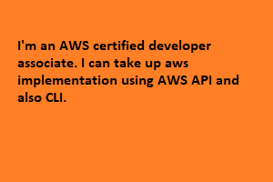 Portfolio for AWS certified developer associate