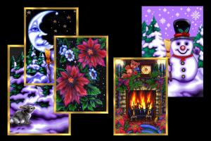 Portfolio for HOLIDAY & GREETING CARDS ARTIST