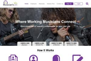 Musical website