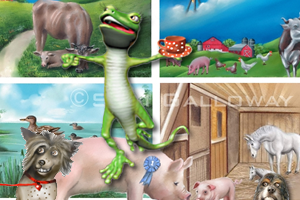 Portfolio for Animal Illustrations & Pet Portraits