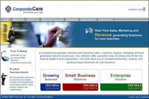 Portfolio for e-CorporateCare Live Support