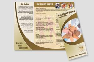 Portfolio for Fully Custom Created Brochure