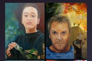 Portfolio for Corporate Wall Art - Portrait painting