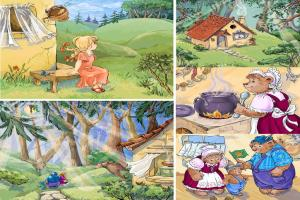 Portfolio for Bronze Award Picture Book- Goldilocks