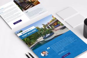 Portfolio for Brochure Design (trifold, bi-fold, PDF)