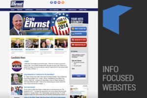 Information Focused Websites
