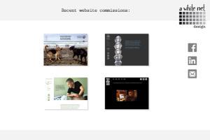 Portfolio for Website Production & Hosting