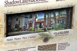 Portfolio for Responsive real estate web sites