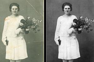 Portfolio for Restoring Old Photographs