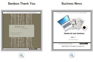 Portfolio for Email Template Design
