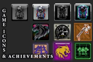 Portfolio for Achievement Icons \ App Icon Design