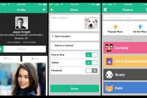 Portfolio for Mobile App Design (UI only)