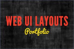 Portfolio for Website UI Design