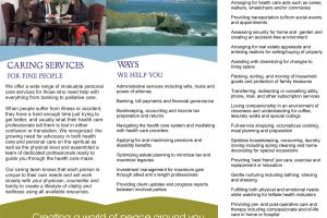 Portfolio for Brochures, Newsletters & Promotional