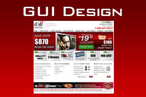 Portfolio for Graphic User Interface Design (GUI)