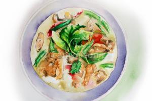 Portfolio for Food Illustration