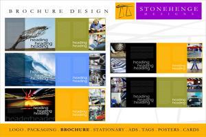 Portfolio for corporate brochure designs