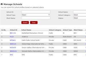 PHP / MYSQL - School Management System