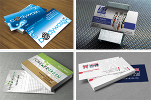 Portfolio for Professional Business Cards