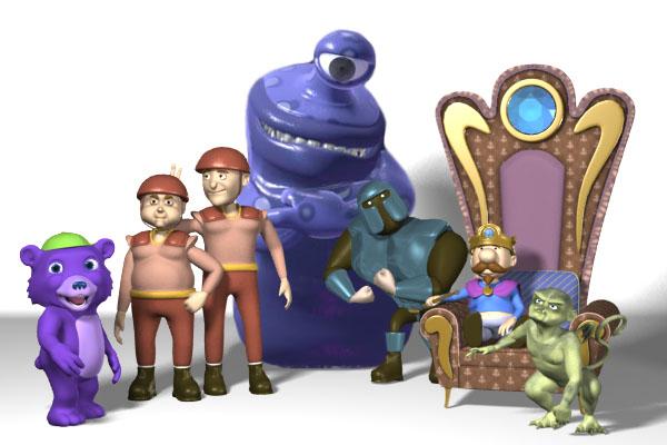 Portfolio for 3D Character Render