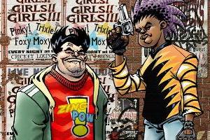 Portfolio for Illustrations and comic book art.