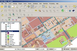 Portfolio for GIS Geographical Information System