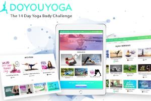Yoga & Fitness BuddyPress Community Site
