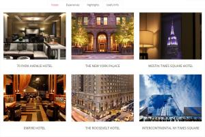 WordPress Hotel & Car Booking Web Design, NYC