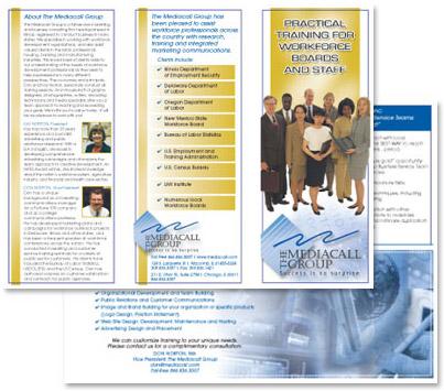 Portfolio for Attractive Brochure Design