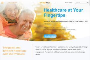 Cybermed WordPress Website