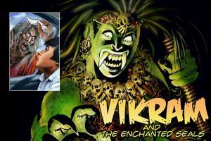 Portfolio for Book Illustration -Vikram