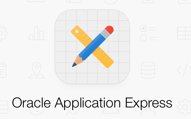 Oracle Application Express logotyp