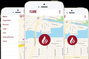 iOS Mobile App Development Flare Location,Tracking,Chat