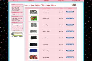 Portfolio for Basic e-commerce website