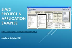 Portfolio for Excel & Access Design & Programming
