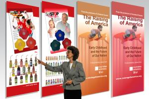 Portfolio for Banners - Exhibits - Posters - POS