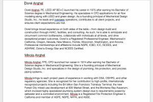 Portfolio for Bio Copywriting and Editing _ 20+ Years