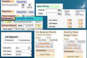 Portfolio for Database Design/Programming/Development