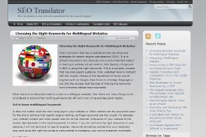 Portfolio for Multilingual SEO and website translation