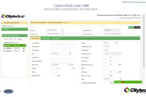 Portfolio for Real Estate CRM