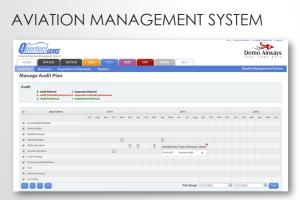 Portfolio for Aviation management system ( SASS)