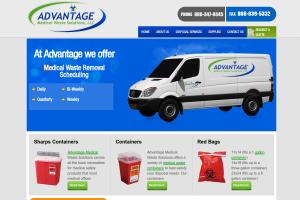 Responsive Wordpress Web Design-Medical Waste Solutions