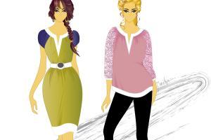 Portfolio for Fashion Illustration