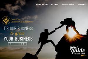 Website Design:  Lone Tree Chamber